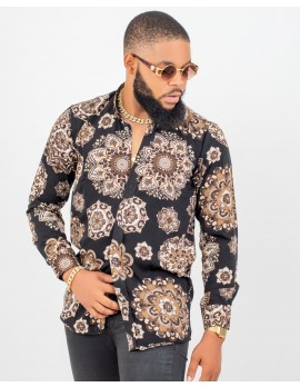 ELAN -CROWN STAR LONG SLEEVE SHIRT